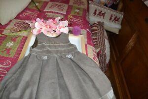 robe tartine et chocolat plus la veste 4 ans assortie a la robe**