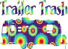 Trailer Trash Tie Dyed Sticker Decal