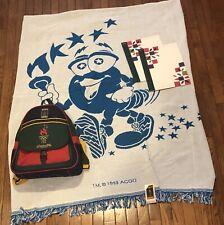 Vintage 1996 Atlanta Olympics Backpack Blanket End Ceremony Program Mixed Lot