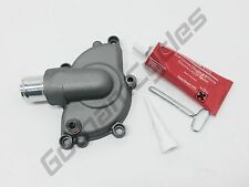 New Ducati SILVER / GREY 5 Bolt Water Pump Cover Impeller Silicone Liquid Gasket