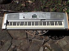 Yamaha DGX500 keyboard, 88 keys, stand, foot pedal, music stand, manual