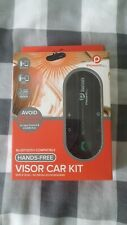 Powerful Handsfree Bluetooth Visor In Car Speakerphone Car-Kit (Brand New)