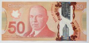 Canada 2012 - $ 50 - BC-72a-i-N1-iii  - Macklem-Carney  -  4 Digit Radar