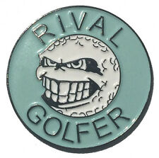 Rebellious Golf Ball Marker by Rival Golfer - Light Blue