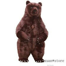 Inflatable Bear Mascot Costume Party Inflatable Suit Adult Fur Bear Carnival New