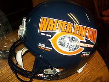 """Chicago Bears Walter Payton """"Sweetness"""" Riddell Full Size Replica Helmet"""