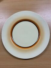 "CLARICE CLIFF ART DECO NEWPORT POTTERY 9""-WIDE DINNER PLATE (CC6)"
