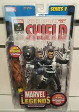 Marvel Legends Nick Fury Figure - Toy Biz Series 5 - New, sealed with comic