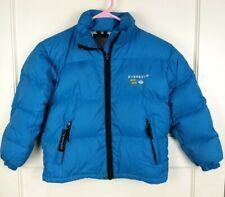 Everest Hard Wear Goose Down Fill Puffer Jacket Coat Blue Boy's Size: 20