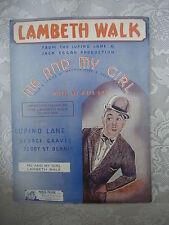 Vintage Sheet Music - Lambeth Walk From Me & My Girl - Noel Gay - 1937