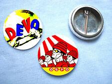Devo-Set Of 2 Badges Eno Punk Sex Pistols