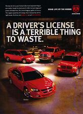 2003 Dodge Caravan Ram Durango  - Classic Car Advertisement Print Ad J74