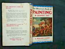 The Observer's Book of Painting & Graphic Art. 1961 edition DJ William Gaunt