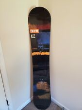 New listing K2 Fuse Snowboard 2017 163cm Wide (Sapient Bag Included)