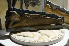 BUDDHA MOLD Plastic PLASTER MOLD Handicrafts Buddhist Statues Sleeping BuddhaD18