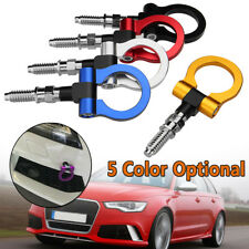 Auto Racing Trailer Ring Tow Towing Hook For BMW Mercedes-Benz Audi