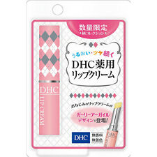 [DHC] Medicated Lip Care Cream CHECKERED Moisturizing Lip Balm 1.5g LIMITED
