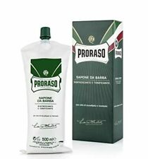 Proraso 500ml XL Menthol and Eucalyptus Shave Cream - barber size large bladder