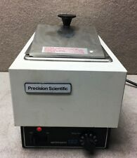 Precision Scientific 182 Heated Water Bath w/ Lid Temp: 25C to 100C 66643