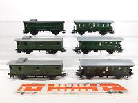 CO914-1# 6x Märklin H0/AC Personenwagen etc: 4002 + 4003 + 4041, gebraucht