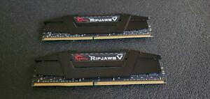 G.SKILL Ripjaws V Series 32GB (2 x 16GB) 288-Pin DDR4 3600 PC4 28800 Ram Memory