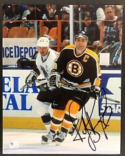 Ray Bourque Boston Bruins Signed 8x10 Photo Autographed Gretzky Orr GA COA
