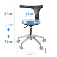Mobile Dental Chair Unit Medical Doctors Assistants Stools Pu Leather For Sale