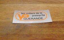 """Logo """"VP Guérande Les Voiliers De La Presqu'île"""" pour voilier VP Vogue ´ enmer"""