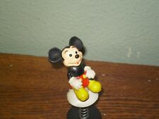 Vintage Walt Disney Spring-Loaded Popup Toy. Mickey Mouse. Made In Hong Kong.
