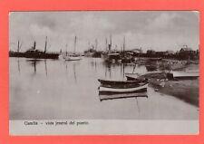 Gandia Puerto Spain pc 25 Dic 1910 postmark Ref T384