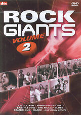 Rock Giants volume 2 : Slade, Status Quo, Golden Earring, Joe Cocker, ... (DVD)
