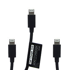PortaPow 3 Pack 30cm 150cm Apple Lightning USB Cable iPhone 5 5S 6 iPad Air 1ft