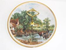 "ENGLISH BONE CHINA Medium CAKE STAND. ""THE Hay Wain"" di John Constable."