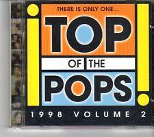 (FK103) Top Of The Pops, 1998 Volume 2 - 1998 CD