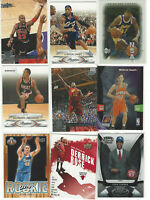 ( 9 ) Basketball Card Lot / Lebron James, Magic Johnson, Michael Jordan