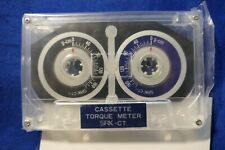 Kokusai Cassette Torque Meter Test Tape Ct F New
