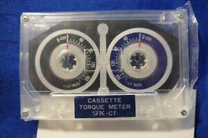 KOKUSAI Cassette Torque Meter Test Tape CT-F, New