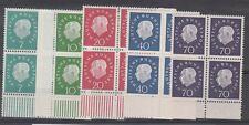 Germany Scott 793-7 Mint NH blocks (Catalog Value $66.00)