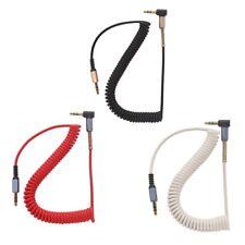 3,5 mm vernickelt Aux Stereo Stecker auf Stecker M/M Audio Jack Kopfhörer Kabel