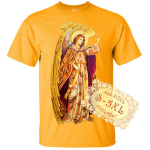 Saint Gabriel V14 Archelangel Christian DTG T SHIRT All sizes S-5XL