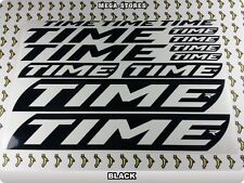 TIME Stickers Decals  Bicycles Bikes Cycles Frames Forks Mountain MTB BMX 54J