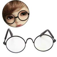 Doll Glasses Vintage Oval Glasses Suitable For 18 inches Dolls Doll Accesso R0H6