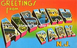BRUCE SPRINGSTEEN *WELCOME TO ASBURY PARK* POSTER