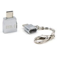 Micro Typ C USB 2.0 Buchse auf USB 3.1 Stecker Konverter USB-C OTG Adapter