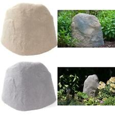 Landscape Rock Sandstone Yard Lawn Fake Faux Realistic Cover Up Hide Conceal