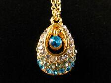 Rhinestone Yellow Gold Plated Costume Necklaces & Pendants