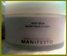 MANIFESTO BODY Balm Moisturizing FRENCH Cream_by Isabella Rossellini_6.7oz JAR..