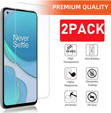 (2 Pack) Tempered Glass For OnePlus 8T Screen Protector Guard