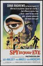 Spy In Your Eye Poster 01 Metal Sign A4 12x8 Aluminium