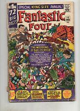 Fantastic Four Annual 3 WEDDING ISS 1965 HULK SPIDER-MAN AVENGERS DR DOOM VG 3.0